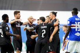 Pesta Gol Kokohkan Posisi Milan di Zona Eropa