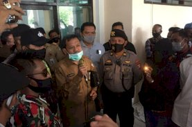 Dinilai Ada Kecurangan PPDB, AMPP Datangi Kantor Disdik Makassar
