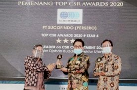 Sucofindo Raih Dua Penghargaan Top CSR 2020