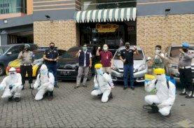 IDI Makassar, FTI UMI, dan Mitra Lakukan Penyemprotan di Beberapa Titik