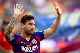 Lionel Messi Mau Tinggalkan Barca