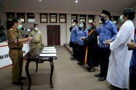 Sekda Makassar Sumpah 461 ASN
