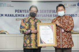 Sucofindo Raih Sertifikat SNI ISO 37001:2016