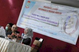 Budi Hastuti Sosialisasi Perda Pendidikan Makassar