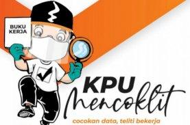 Coklit KPU Makassar Capai 70 Persen, Puluhan Ribu Ditemukan TMS