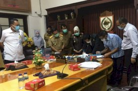 GMTD Serahkan PSU ke Pemkot Makassar Senilai Rp2,7 Triliun