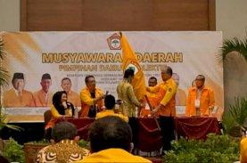 HYL Terpilih Aklamasi Jadi Ketua Kosgoro Sulsel