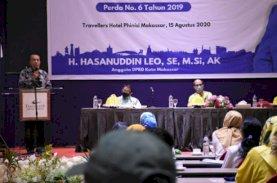 Hasanuddin Leo Sosialisasi Perda Kepemudaan