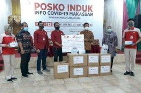 Kawan Lama Foundation Serahkan Bantuan APD untuk Pemkot Makassar