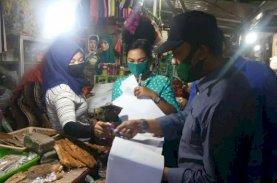 PD Pasar Makassar Tegur Pedagang di Pasar Sawah