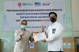 Sucofindo Beri Bantuan Masker KN95 untuk RSCM
