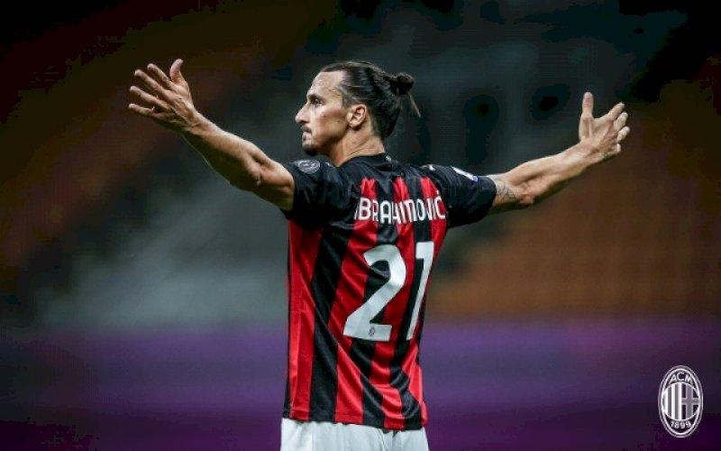 Zlatan Ibrahimovic. foto: twitter @acmilan