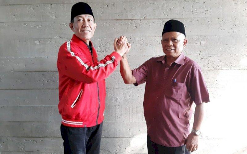 PASANGAN. Pasangan Calon Bupati dan Wakil Bupati Tana Toraja, Albertus Patarru-John Diplomasi. foto: doelbeckz/pluz.id