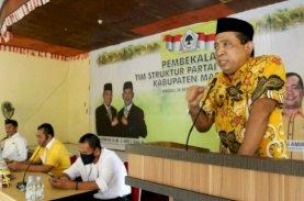 Tajerimin Kobarkan Semangat Kader Golkar dari Seluruh Kecamatan