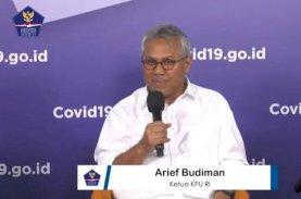 Ketua KPU RI Arief Budiman Positif Covid-19