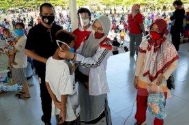 Rektor UIM Kampanye Disiplin Pakai Masker Tangkal Covid-19
