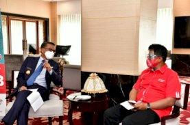 Gubernur Apresiasi Inovasi Telkomsel Sediakan Kartu Perdana Peserta Didik