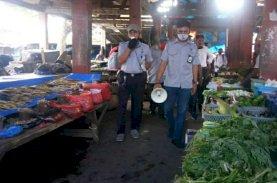 Basdir: Kesadaran Protokol Kesehatan di Pasar Mulai Terlihat