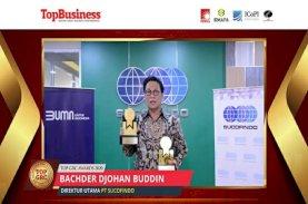 Sucofindo Raih Penghargaan di Ajang Top GRC Awards 2020