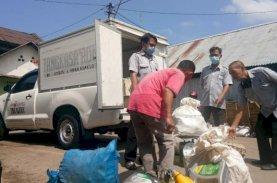 Bank Sampah Unit Pasar Kalimbu Mulai Lakukan Penimbangan