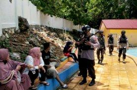 Libur Panjang, Brimob Patroli Sasar Objek Wisata