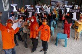 Danny-Fatma Kampanye Bareng di Mamajang