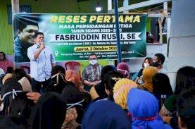 Fasruddin Rusli Reses di Maricaya Baru