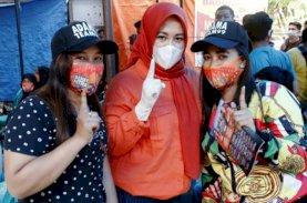 Milenial Anak Rakyat Gusung Mantap Pilih Danny-Fatma