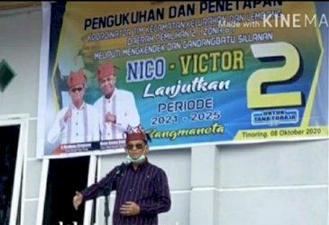 Nico Akui Fasilitasi Pembayaran Penerimaan TNI-Polri