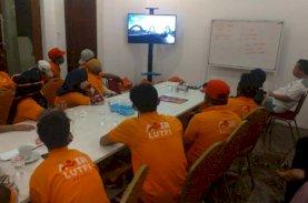 Relawan Anir-Lutfi Dibekali Konsep Pembangunan Jembatan Pangkajene
