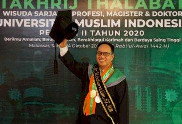 Saharuddin Raih Gelar Insinyur