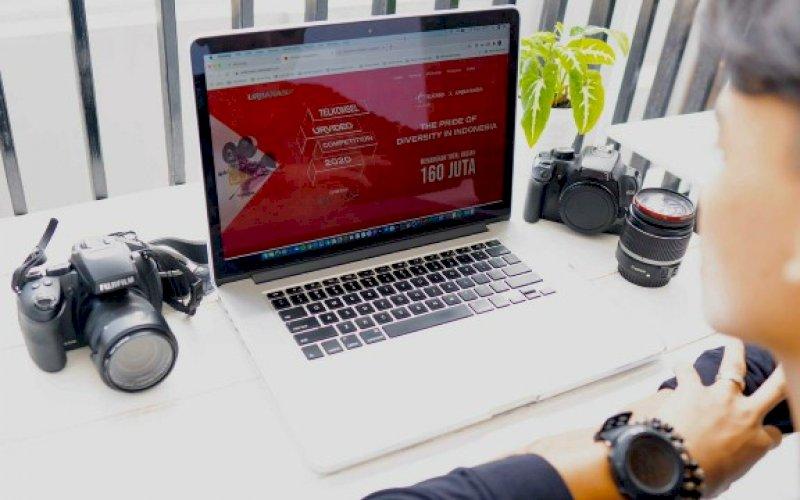 LOMBA. Telkomsel mengadakan Urvideo Competition 2020 dalam memaknai momen peringatan Sumpah Pemuda dan Hari Pahlawan 2020. foto: istimewa