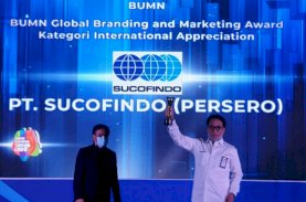 Sucofindo Raih Penghargaan Global Branding & Marketing Award International Appreciation