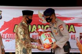 Brimob Bone Anjangsana ke Purnawirawan dan Warakawuri