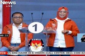 Debat Segmen Pertama, Danny-Fatma Bungkam Appi-Rahman