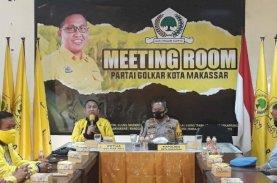 Farouk Apresiasi Kunjungan Kapolrestabes di Sekretariat Golkar Makassar