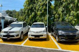 Ditlantas Limpahkan 3 Unit Mobil ke Ditreskrimum Polda