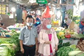 Dinobatkan Pasar Sehat, Pasar Maricaya Dikunjungi Kemenkes