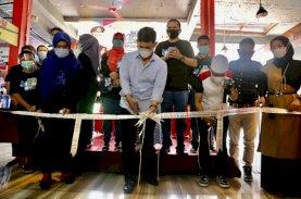 Kapolda, Rektor UIM, dan Ustad Das'ad Latif Resmikan MR Food Court BTP