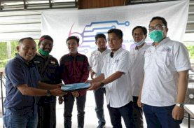 SMSI Kota Parepare Terima SK Pengurus di Makassar