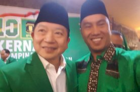 Saharuddin Ucapkan Selamat Ulang Tahun kepada Suharso Monoarfa