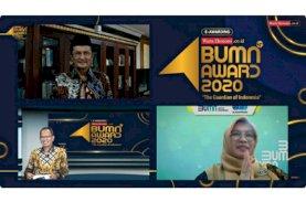 Sucofindo Raih Penghargaan di Ajang Indonesia Best BUMN Award 2020