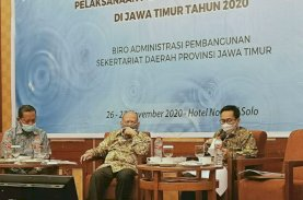 Sukriansyah Latief Pembicara FGD Percepatan Pembangunan Bendungan Jawa Timur
