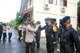 Masa Tenang, Pasukan Brimob Bone Mulai Diturunkan Pengamanan Pilkada