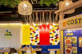 D'Cost Buka Gerai di Nipah Mall