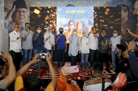 Danny-Fatma Banjir Ucapan Selamat Pemenang Pilwalkot Makassar