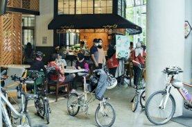 Nipah Gocapan, Alternatif bagi Pesepeda Cari Sarapan