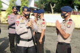 56 Personel Brimob Bone Naik Pangkat