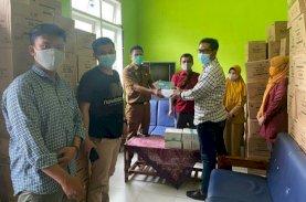 Anir Peduli Serahkan Bantuan Masker di Sinjai