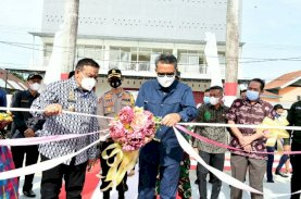 Gubernur Sulsel Resmikan RTH Green Episentrum Watampone